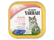 Yarrah  Cat Food - Pate With Msc Salmon & Seaweed