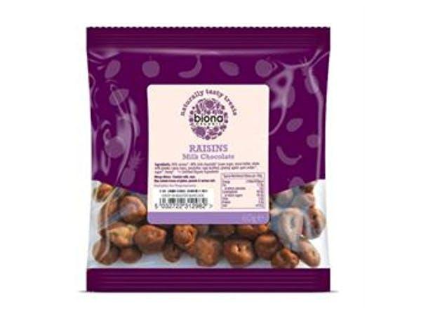 Biona  Milk Chocolate Covered Raisins