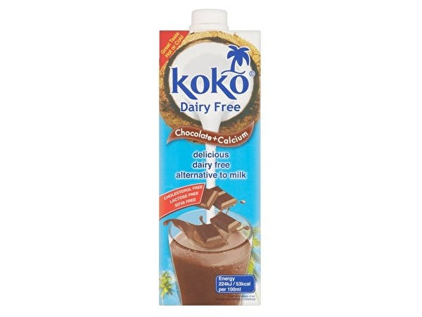 Dairy Free Chocolate Coconut Milk + Calcium