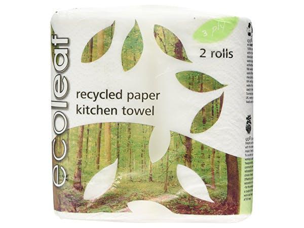 Ecoleaf  3Ply Kitchen Towel