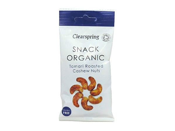 Clearspring  Roasted Tamari Cashew Nut Snack