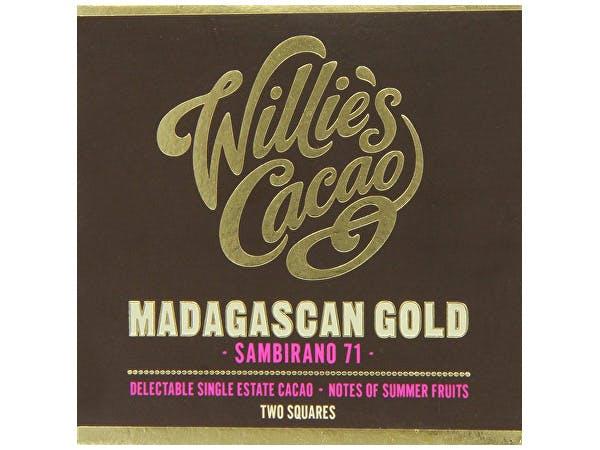 Willies  Sambirano Gold Madagascan 71% Dark Chocolate