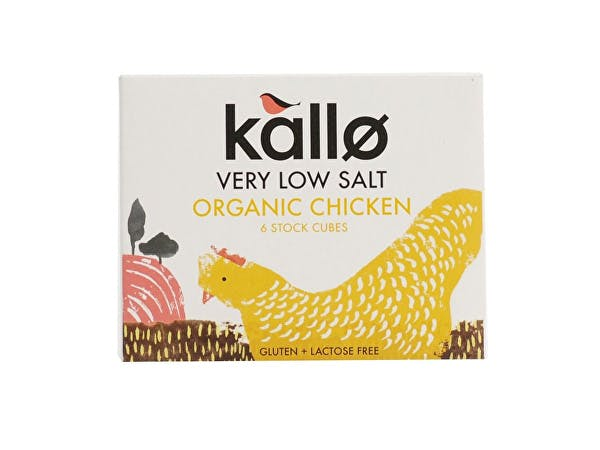 Kallo  Chicken Stock Cubes - Low Salt & Organic