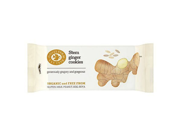 Doves Farm  Stem Ginger Cookies - Fairtrade