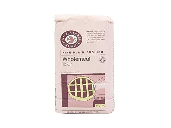 Doves Farm  Wholemeal 100% Fine Plain Flour - Organic
