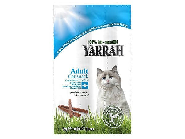 Yarrah  Chewsticks With Seaweed & Spirulina For Cats