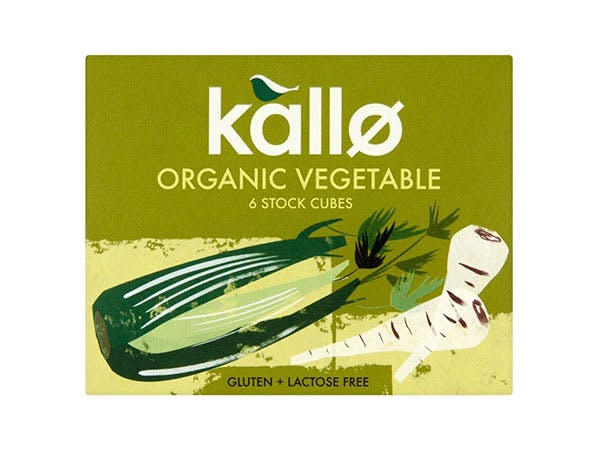 Kallo  Vegetable Stock Cubes - Organic