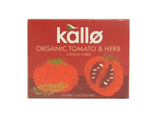Kallo  Tomato & Herb Stock Cubes - Organic