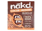 Nakd  Cocoa Orange - Multipack