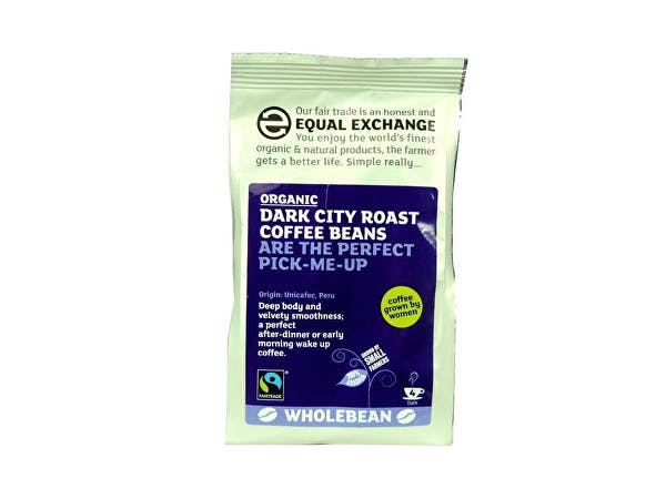 Equal Exchange  Dark City Roast Coffee Beans