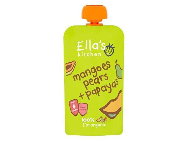 Ellas Kitchen  Mango Pear & Papaya - Stage 1
