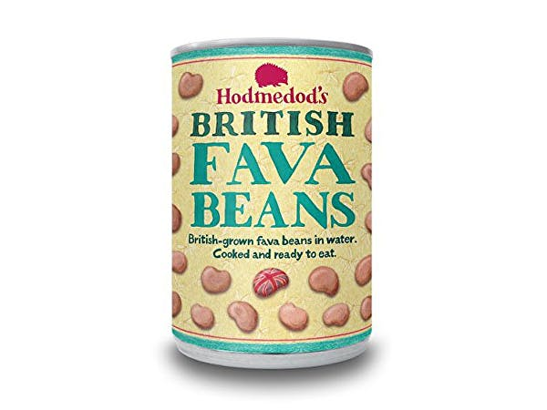 Hodmedods  Whole Cooked Fava Beans In Water - Can