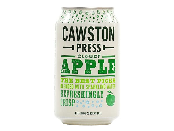 Cawston  Sparkling Cloudy Apple Can