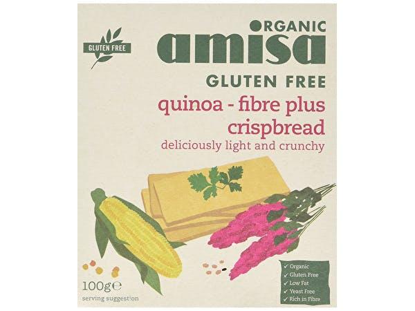 Amisa  Quinoa Fibre Plus Crispbread