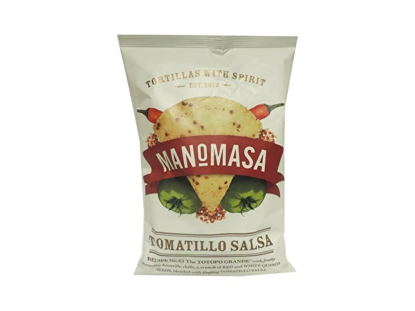 Manomasa  Tomatillo Salsa Tortilla Chips