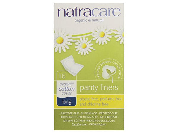 Natracare  Panty Liners - Long Wrapped