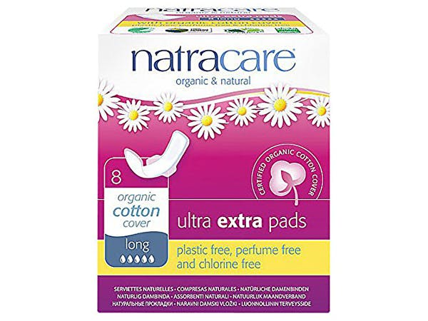 Natracare  Ultra Extra Pads With Wings - Normal