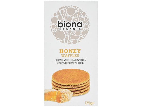 Biona  Organic Honey Waffles