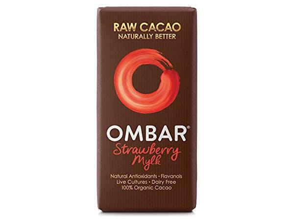 Ombar  Strawberries & Cream Bar
