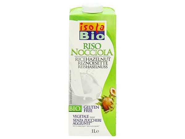 Isola Bio  Organic Rice & Hazelnut Drink