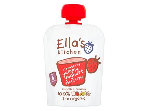 Ellas Kitchen  Greek Yoghurt & Strawberry