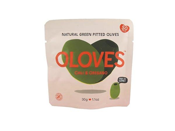 Oloves  Big Juicy Chilli & Oregano Olives Snack