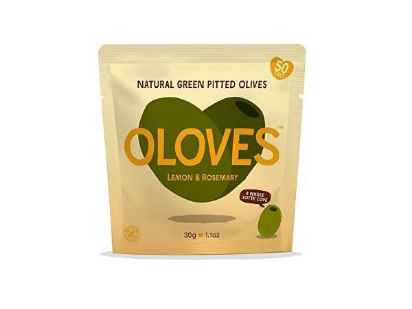 Oloves  Lemon Rosemary Garlic Green Olives Snack