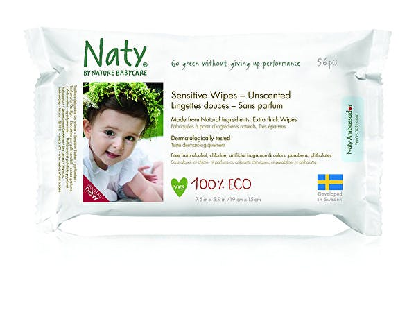 Nature Baby  Sensitive Wipes - Unscented