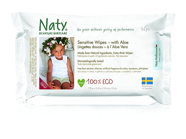 Nature Baby  Sensitive Wipes With Aloe