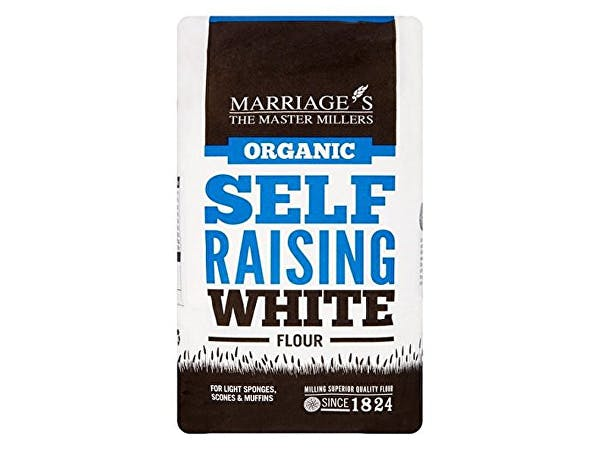 Marriages  Organic White Self Raising Flour