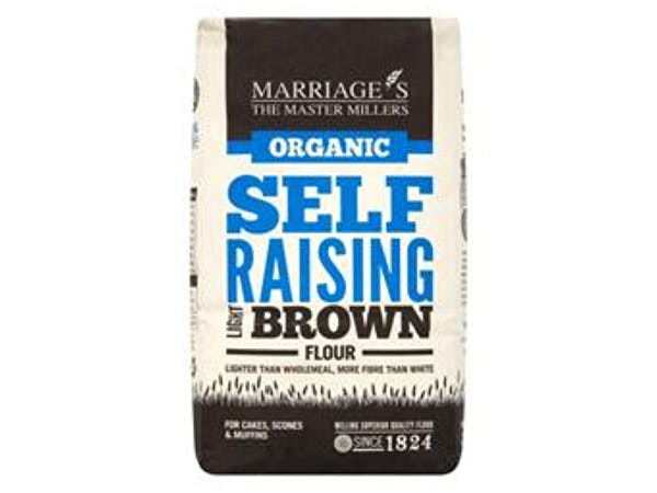 Marriages  Organic Light Brown Self Raising Flour