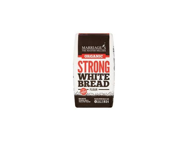 Marriages  Organic Strong White Bread Flour