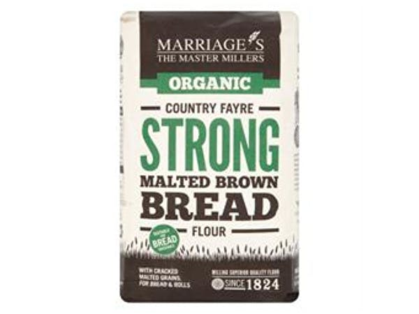 Marriages  Country Fayre Strong Malt Brown Bread Flour