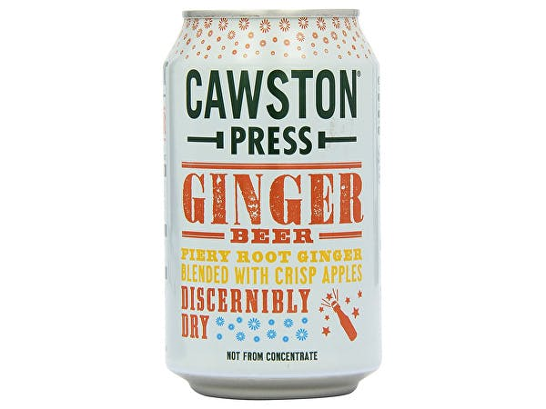 Cawston  Sparkling Ginger Beer - Cans
