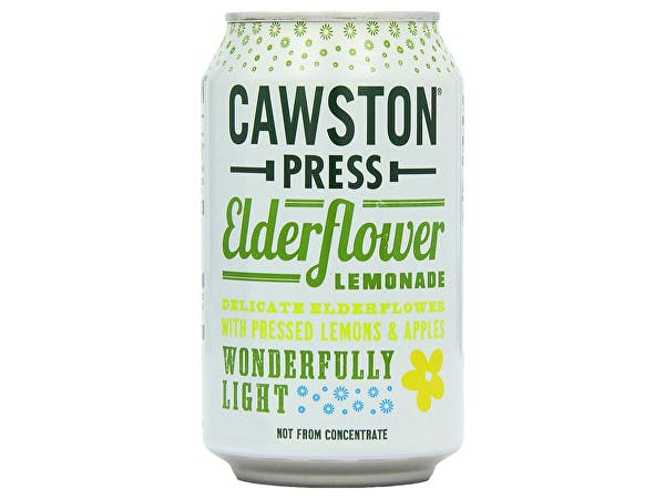 Cawston  Sparkling Elderflower Lemonade - Cans