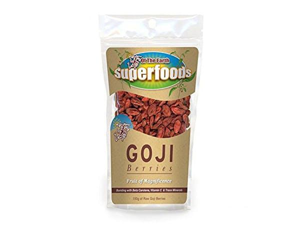 Of The Earth  Organic Goji Berries