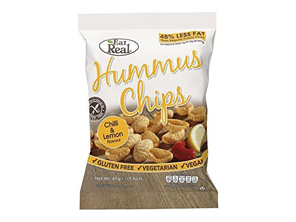 Eat Real  Hummus Chilli & Lemon Chips