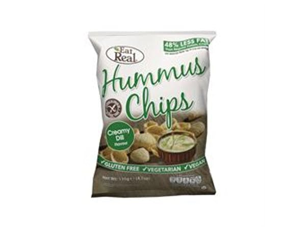 Eat Real  Hummus Creamy Dill Chips