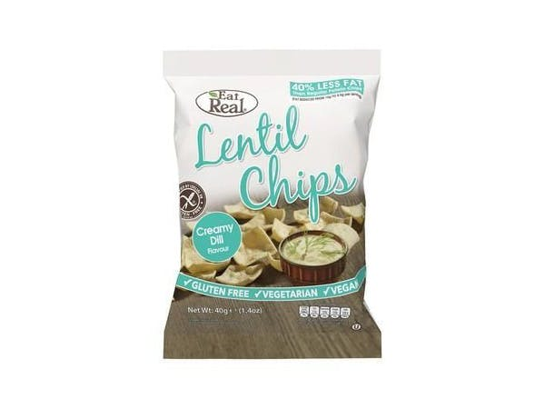 Eat Real  Lentil Creamy Dill Chips