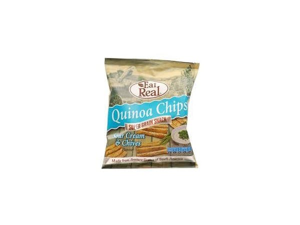Eat Real  Quinoa Cream & Chive Chips