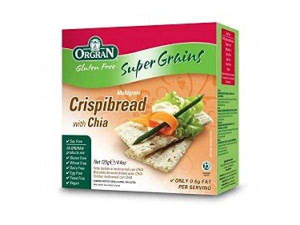 Orgran  Multigrain Crispbread with Chia