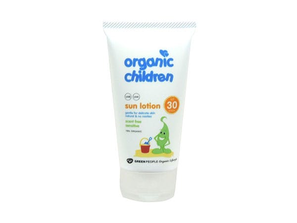 Green People  Childrens Scent Free Sun Lotion Spf30