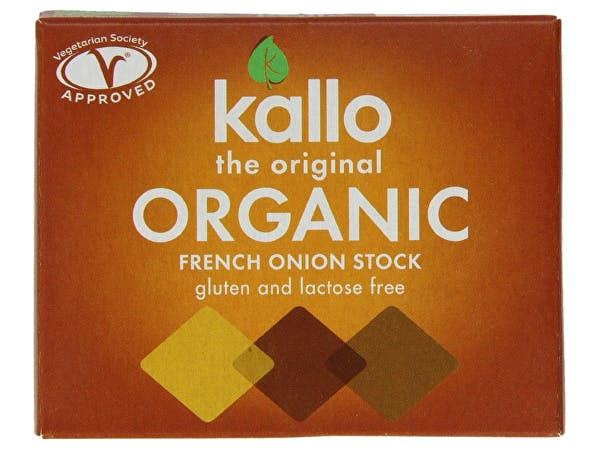 Kallo  French Onion Stock Cubes - Organic