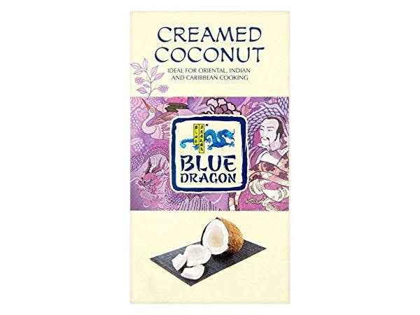 Blue Dragon  Coconut Block - Creamed