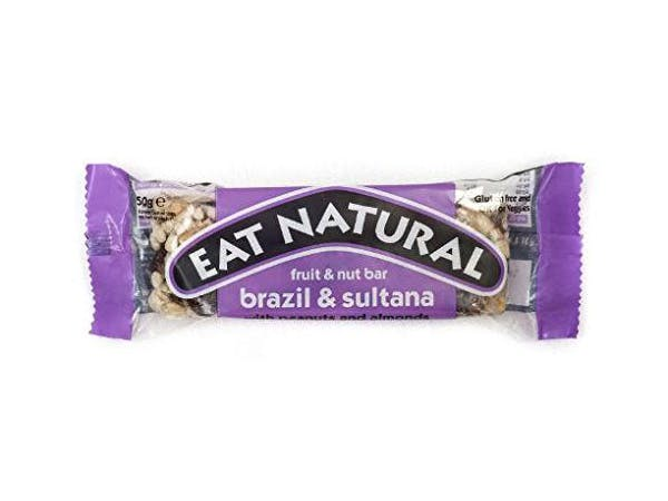 Eat Nat  Brazil Sultana Almond Peanut & Hazelnut Bar
