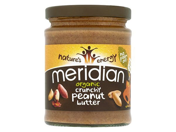 Meridian  Organic Peanut Butter - Crunchy 100% Nuts