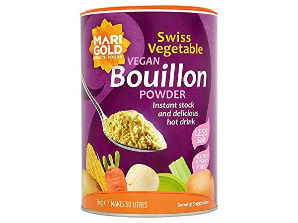 Marigold  Swiss Vegetable Bouillon - Reduced Salt & Vegan