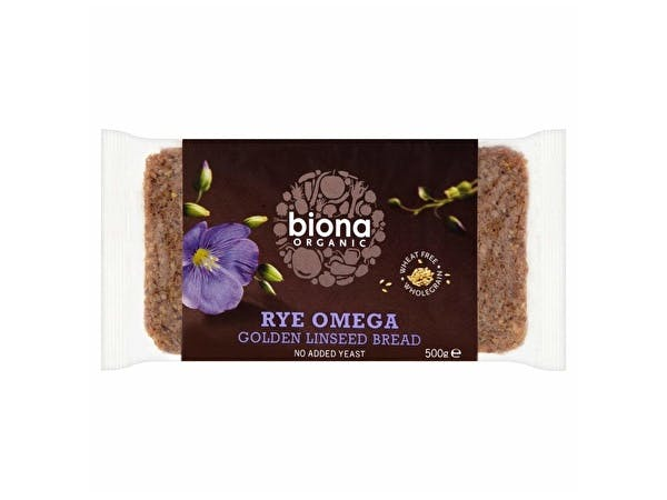 Rye Omega 3 Golden Linseed Bread