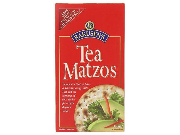 Rakusen  Tea Matzos