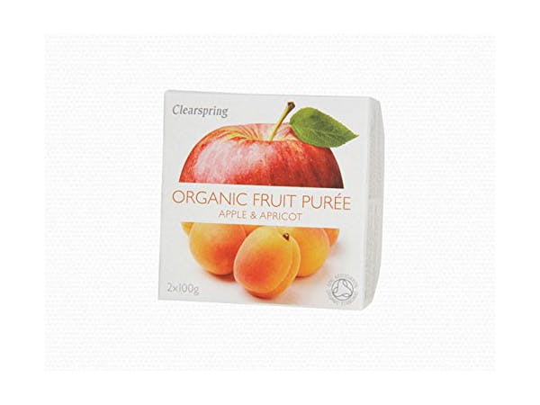 Clearspring  Apple & Apricot Fruit Puree